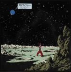 Emaille : Fusée Terre appelle la Lune - 1er 1m