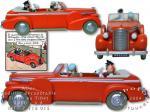 Atlas Tintin taxi Cadillac Tibet