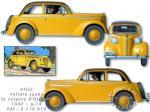 Atlas Tintin Opel Olympia Sceptre Ottokar