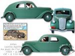 Atlas Tintin Lancia Aprilia Or Noir