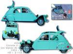 Atlas Tintin 2cv  Bijoux Castafiore