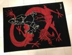 AXIS Tapis Tintin dragon Lotus bleu