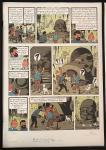 Lithographie WWF : Tintin Vol 714 pour Sydney