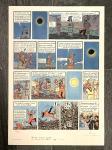 Lithographie WWF : Tintin Le Temple du Soleil