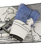 AXIS Tapis Tintin dans son bain !