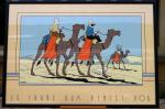 Sérigraphie Archives Tintin méhariste Crabe aux pi