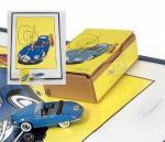 Idem Franquin Spirou Turbot-Rhino 1 bleue Art Mode