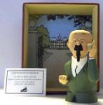 Leblon Hergé Tintin buste Tournesol cornet