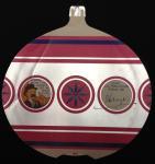 Carte de voeux : Boule de Noël 1968
