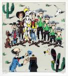 Portfolio : Morris : Lucky Luke 3 sérigraphies sig