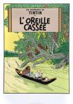 Sérigraphie Escale : Tintin L'oreille cassée