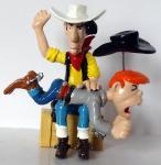 Pixi Lucky Luke fessée à Billy the Kid