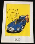 Poster Franquin Spirou, Marsupilami et Turbot-Rhin