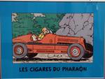 Affiche Tintin Amilcar