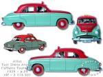 Atlas Tintin taxi Simca Affaire