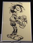 Poster Franquin Gaston et robinet