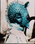 Star Wars : photo Greedo dédicacée Paul Blake