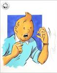 Somon Tintin illustration