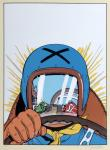 Sérigraphie : Michel Vaillant : Le Pilote sans vis