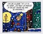 Sérigraphie : Franquin : Le Petit Noël