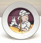 AXIS Tintin assiette portrait Congo
