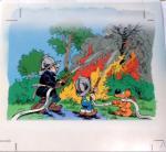 Studio Roba  Boule et Bill bleu coloriage