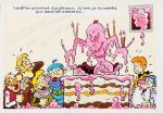 Turk Anniversaire Chick Bill illustration