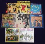Vinyles : Blake Mortimer, Ed. Mitchell, Lio, Pratt