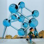 Pixi Franquin Gaston Atomium