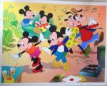 Illustration Mickey, Minnie et compagnie