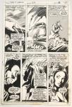 Gene Colan Tomb of Dracula #23 planche