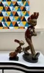 Boulesteix : Spirou et Spip façon bronze