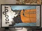 Affiche Tintin Toooot encadrée