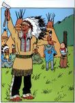 Emaille : Couverture Tintin Amérique PROTO