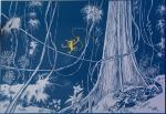 Emaille Franquin page de garde Nid Marsupilami