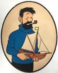 Tintin PLV Innovation Haddock