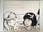 Leloup Yoko Tsuno illustration