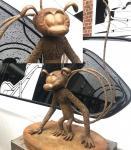 Harze : Le Marsupilami 8ex bronze