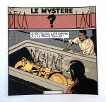 Voeux Ziller Blake et Mortimer Pyramide 1985