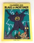 Jacobs Blake et Mortimer calendrier 2010