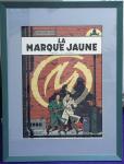 Sérigraphie Blake et Mortimer Marque Jaune
