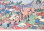 Moulinsart Hergé Tintin rallye autos Coke en stock