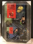 Affiche Hergé Tintin expo Chine en bulles 1987