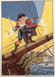 Sérigraphie Marini Pirate Antibes