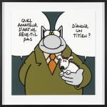 Geluck Le Chat hommage : Rêve d'avoir un Titien