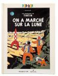 Hergé Tintin Pop-hop Lune ré 1992