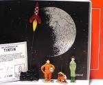 Pixi 1E Tintin Milou Baxter fusée nuage noir