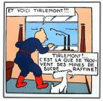 Emaille : Tintin Tirlemont SOVIET - 26 exemplaires