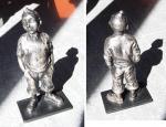 Nat Neujean : Tintin 20cm (argent)