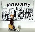 Pixi 4415 1E Tintin Milou valise vitrine Antiquité